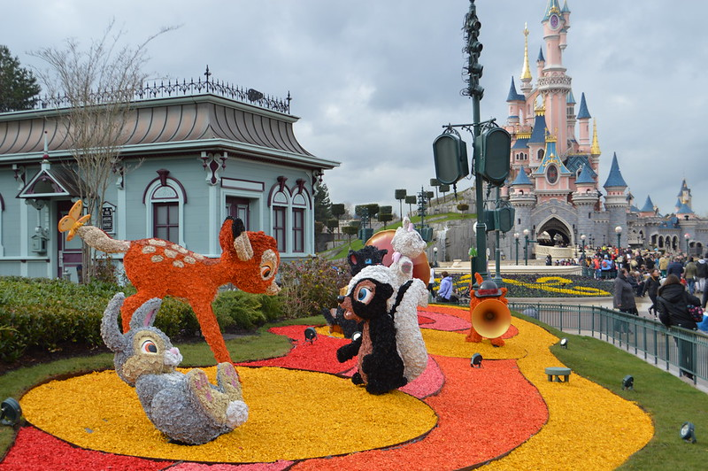 This is a picture of the Disneyland Paris castle