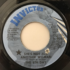 THE 8TH DAY:SHE'S NOT JUST ANOTHER WOMAN(LABEL SIDE-A)