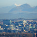 Glasgow from Castlemilk this morning - the Crianlarich peaks of Ben More and Stob Binnein (70ks - 44m as the crow flies) are visible in the background of some of the pics....