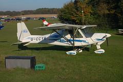 G-CCYR Ikarus Comco C-42 (0406-6612) Popham 121008