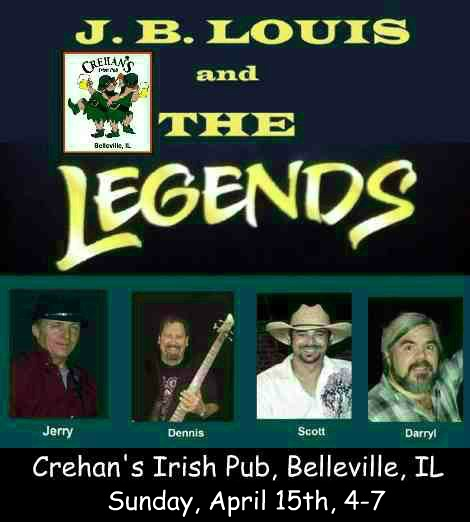 J.B. Louis and The Legends 4-15-18