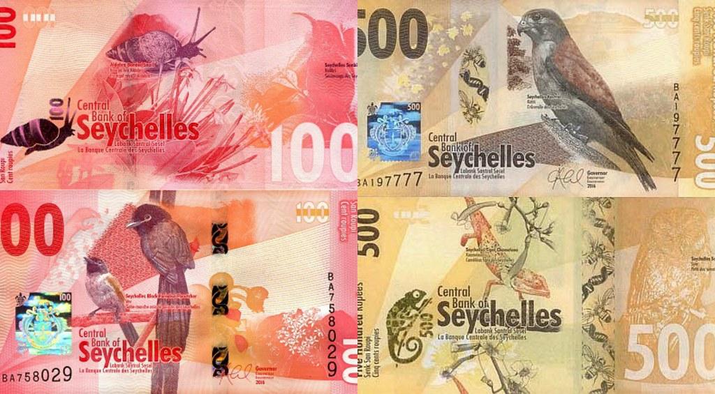Pieniądze Seszele