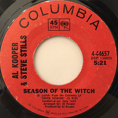 AL KOOPER & STEVE STILLS:SEASON OF THE WITCH(LABEL SIDE-A)