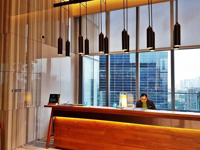 Courtyard By Marriott Singapore Lobby