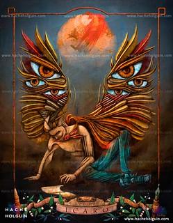Ilustración. Icarus: wings of creativity