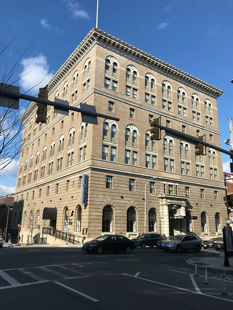 Hotel Indigo Baltimore Downtown/Former YMCA (1907), 24 W. Franklin Street, Baltimore, MD 21201