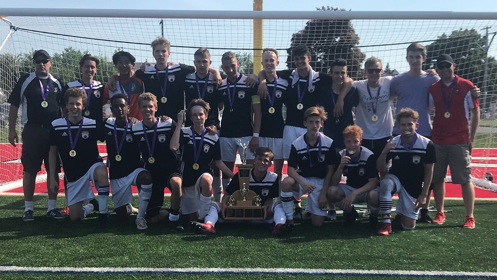 2017-18 Boys Soccer Champions: Waterdown Warriors