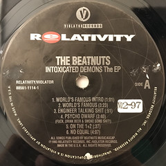 THE BEATNUTS:INTOXICATED DEMONS THE EP(LABEL SIDE-A)