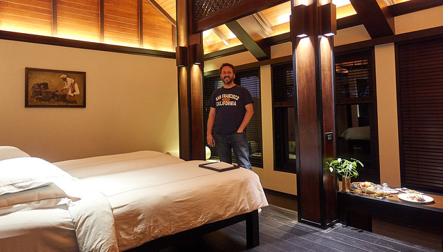 Plush resort cabin