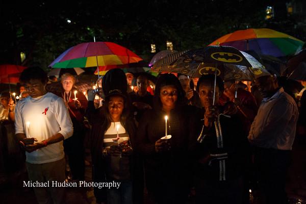 AIDS Candlelight Vigil 2017