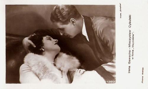 Irena Gawecka and Mieczyslaw Cybulski in Magdalena (1929)
