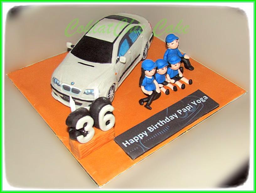Cake Family BMW E46 Papi Yoga 20 cm