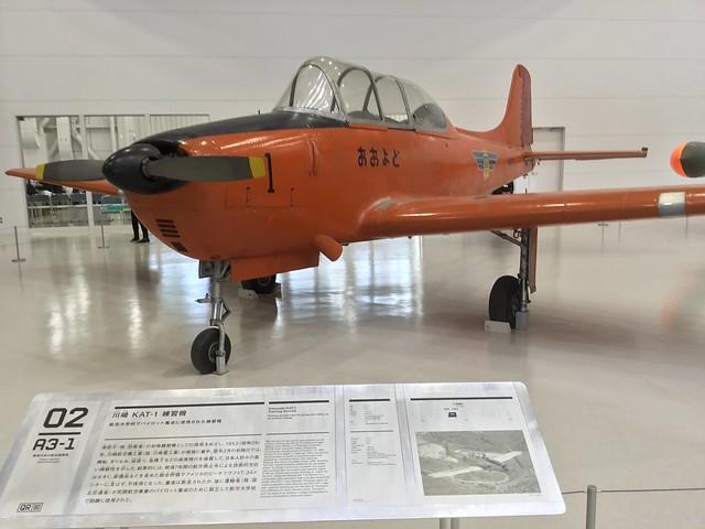 川崎航空機(現・川崎重工業) KAT-1練習機 JA3074 IMG_2482