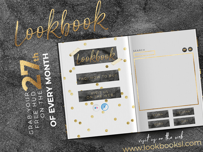 Get the FREE Lookbook HUD - NOW!