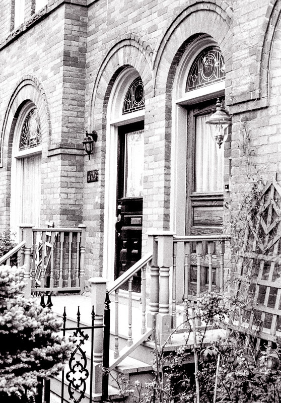 Cabbagetown Arched Front Doors
