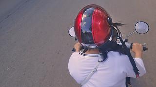 Motorbike in Cambodia