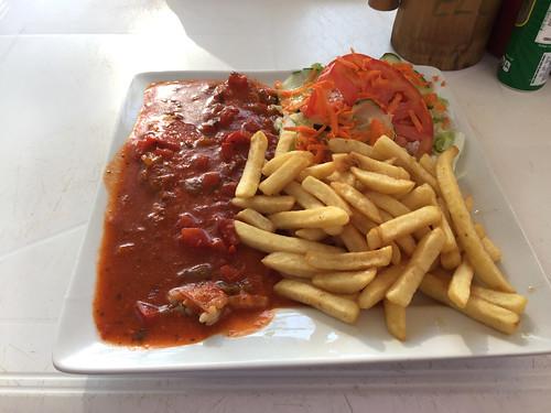 21 - Seabass filet creole - Restaurant Culo - Sosua-Beach