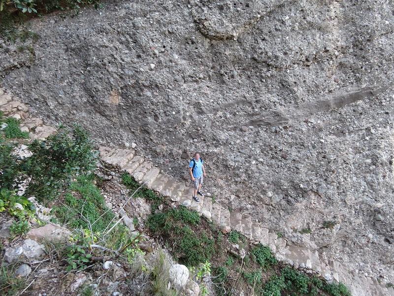 Escales de pedra de MontserratIMG_1302
