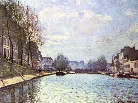 Alfred Sisley Vue du Canal Saint Martin Uti 485