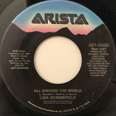LISA STANSFIELD:ALL AROUND THE WORLD(LABEL SIDE-A)
