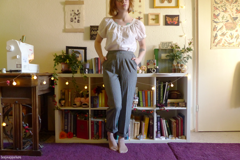 trousers altered handmade 50s 40s midcentury