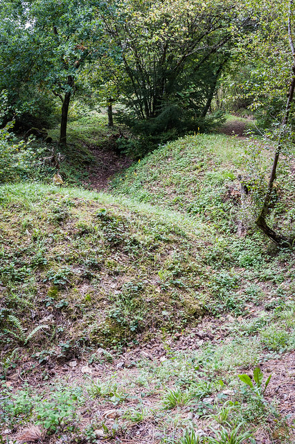 German trenches, Verdun, France