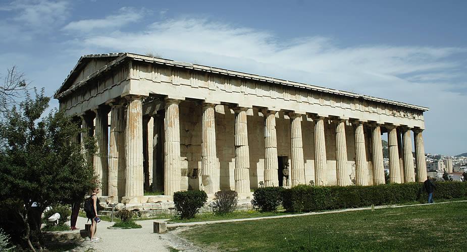 De archeologische highlights van Athene: Antieke Agora | Mooistestedentrips.nl