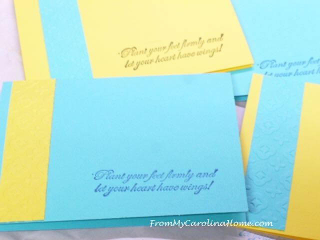 Cards for Safelight Project at From My Carolina Home