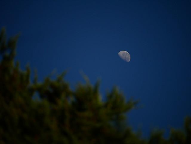 Der Mond, Panasonic DC-GX850, LUMIX G VARIO 45-150/F4.0-5.6