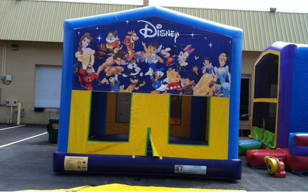 Blue Themed Bounce