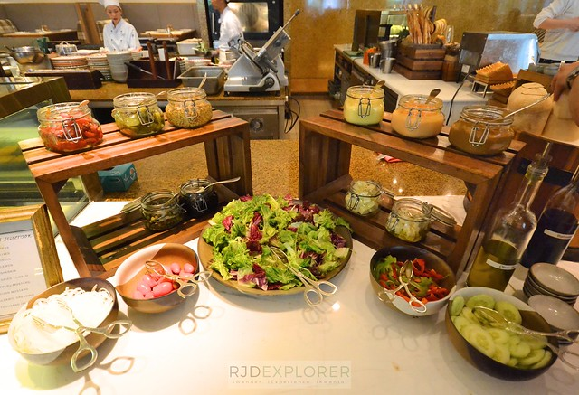 park hyatt saigon salad section buffet breakfast