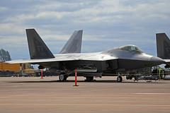 09-0180 (FF) Lockheed Martin F-22A Raptor United States Air Force RAF