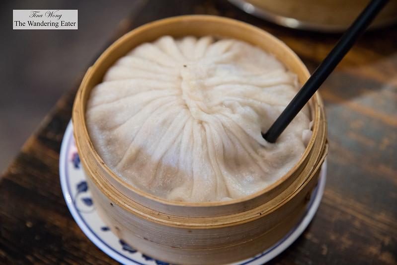 XL xiao long bao (小籠包; soup dumpling)