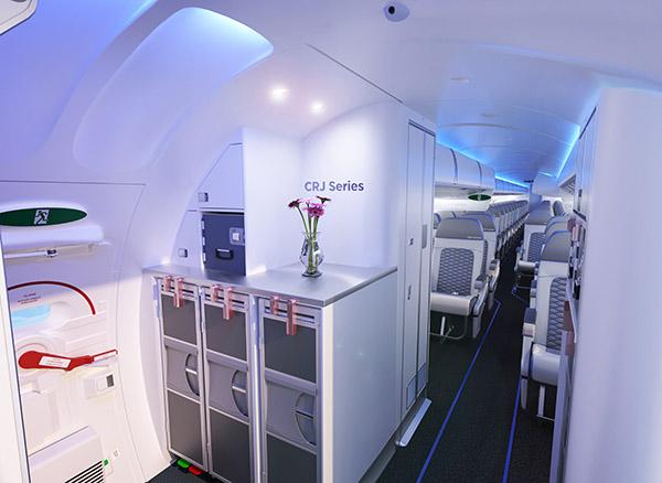 Desde scl bombardier presenta un nuevo dise o de cabina for Cabina principale delta