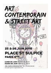 Street Art Saint-Sulpice 2018