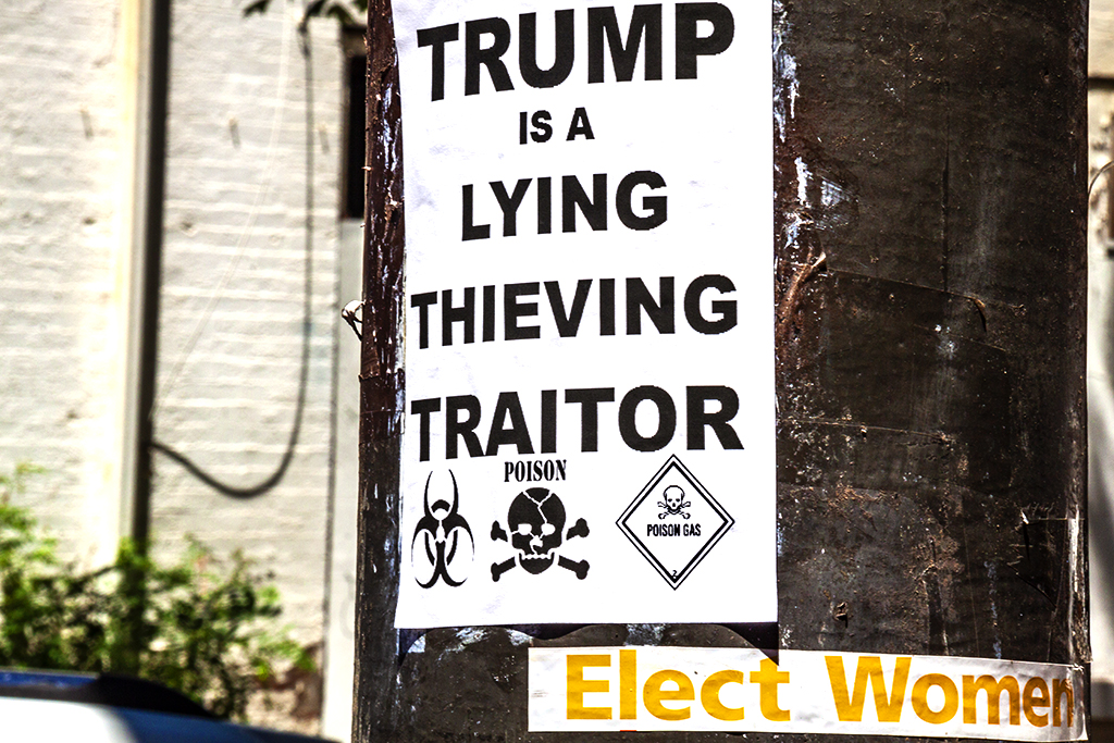 TRUMP IS A LYING THIEVING TRAITOR--Gayborhood