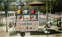 crate Carrito de Fruta  for Summerfest!
