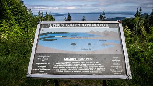 Chuckanut Ridge at Larabee State Park-001