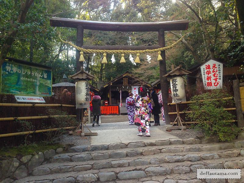 9 Hari Babymoon ke Jepang - Nonomiya-Jinja Shrine