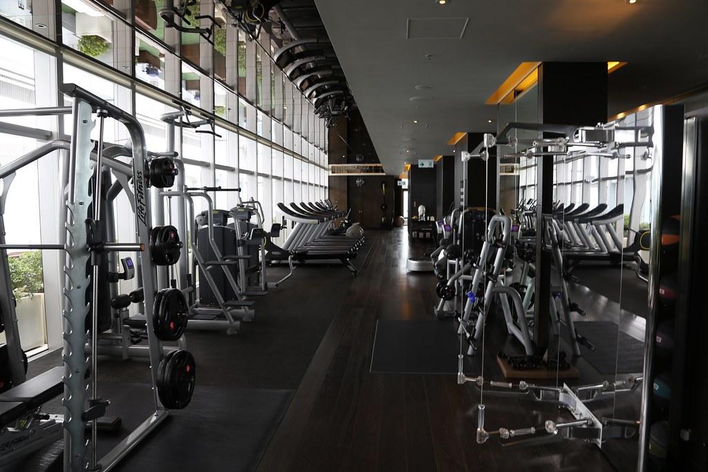 Ritz-Carlton Hong Kong Pool and Gym 34