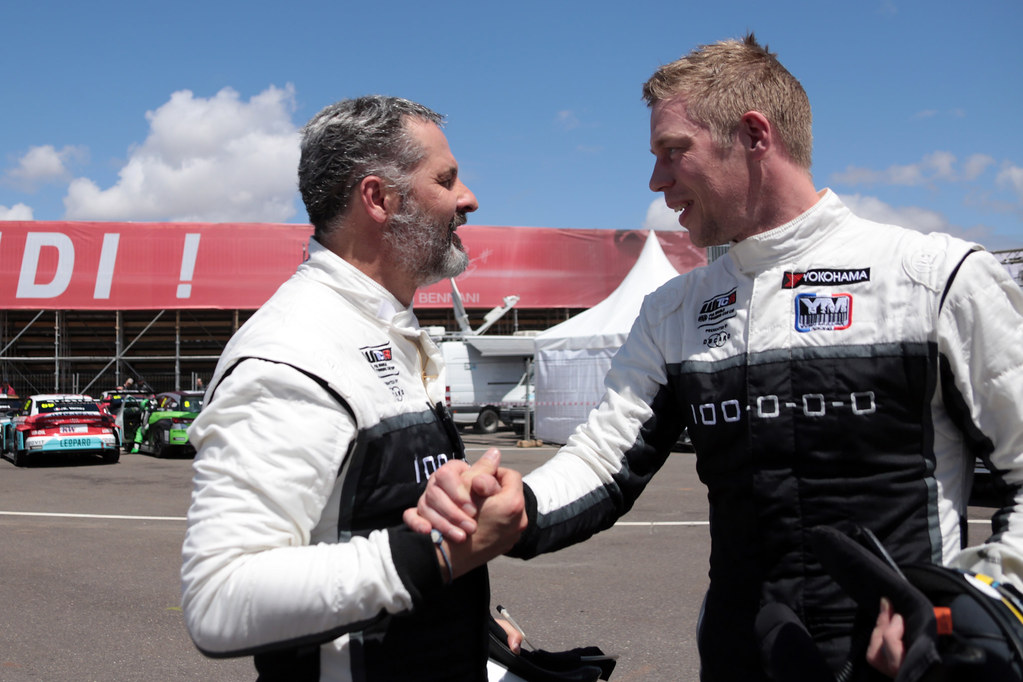 BJORK Thed (SWE), YMR, Hyundai i30 N TCR, portrait MULLER Yvan (FRA), YMR, Hyundai i30 N TCR, portrait during the 2018 FIA WTCR World Touring Car  Cup Race of Morocco at Marrakech, from April 7 to 8th - Photo Paulo Maria / DPPI