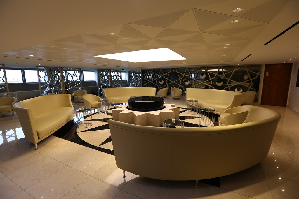 Qatar lounge at Paris CDG 33