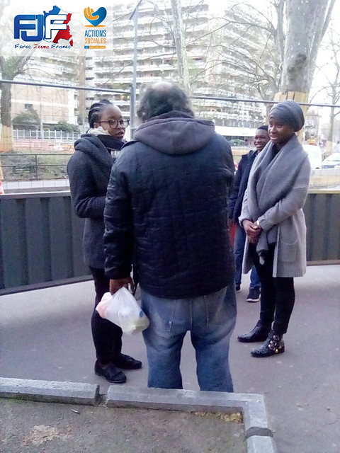 Action Sociale - Distribution de denrée alimentaire - Toulouse