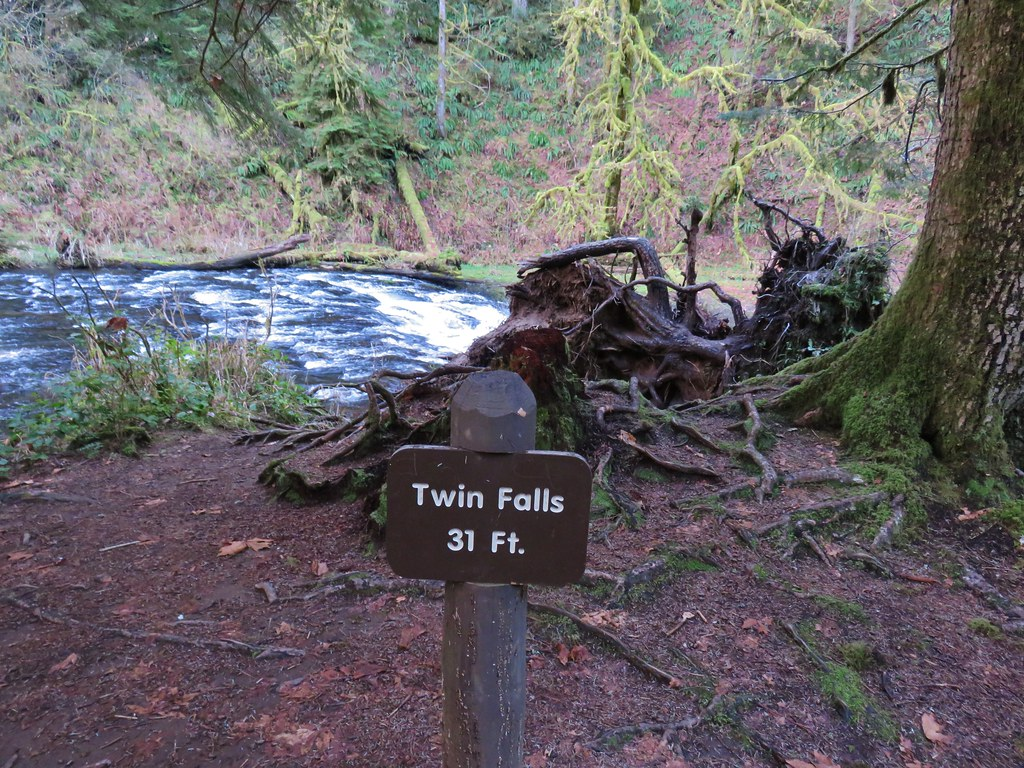 Sign for Twin Falls