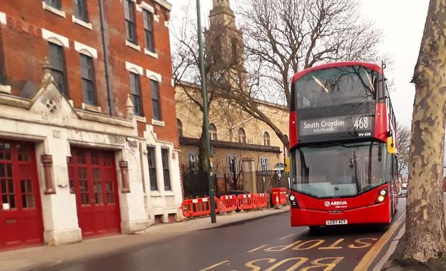 Arriva London South HV408 LC67ACY | 468 to South Croydon, South End