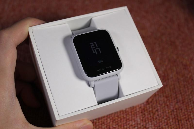 Xiaomi Huami Amazfit Bip インターナショナルバージョン 開封レビュー (4)