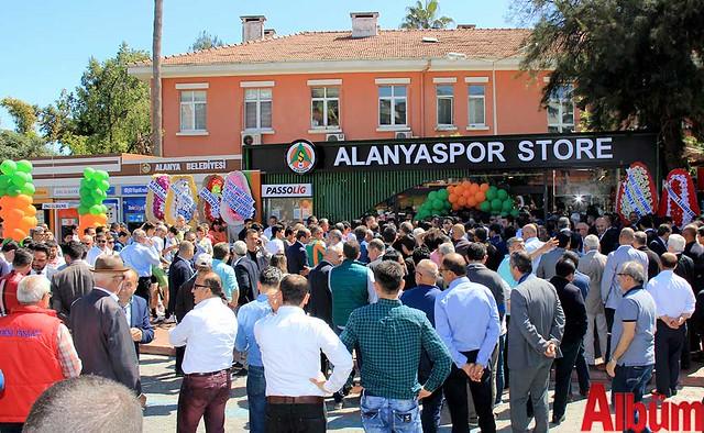 Alanyaspor Store açılış-8