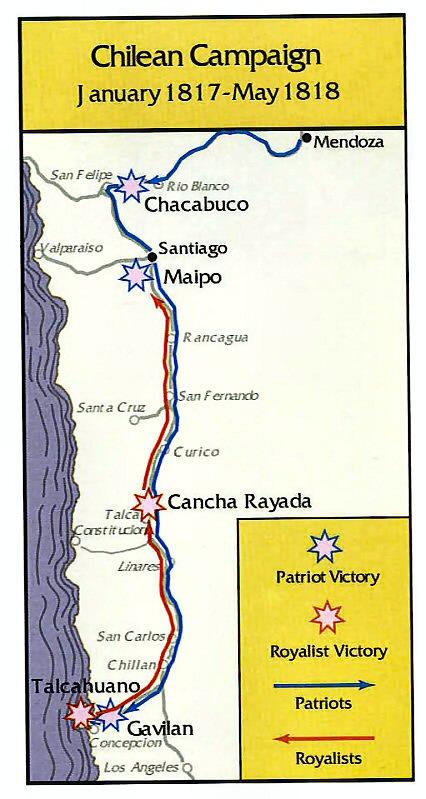 Chilean Campaign 1817-1818