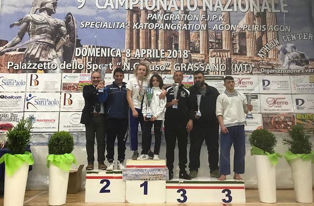 Trofeo per Kodokan a Matera