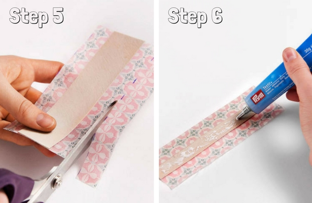 DIY Binder Book Mark Steps 5 6
